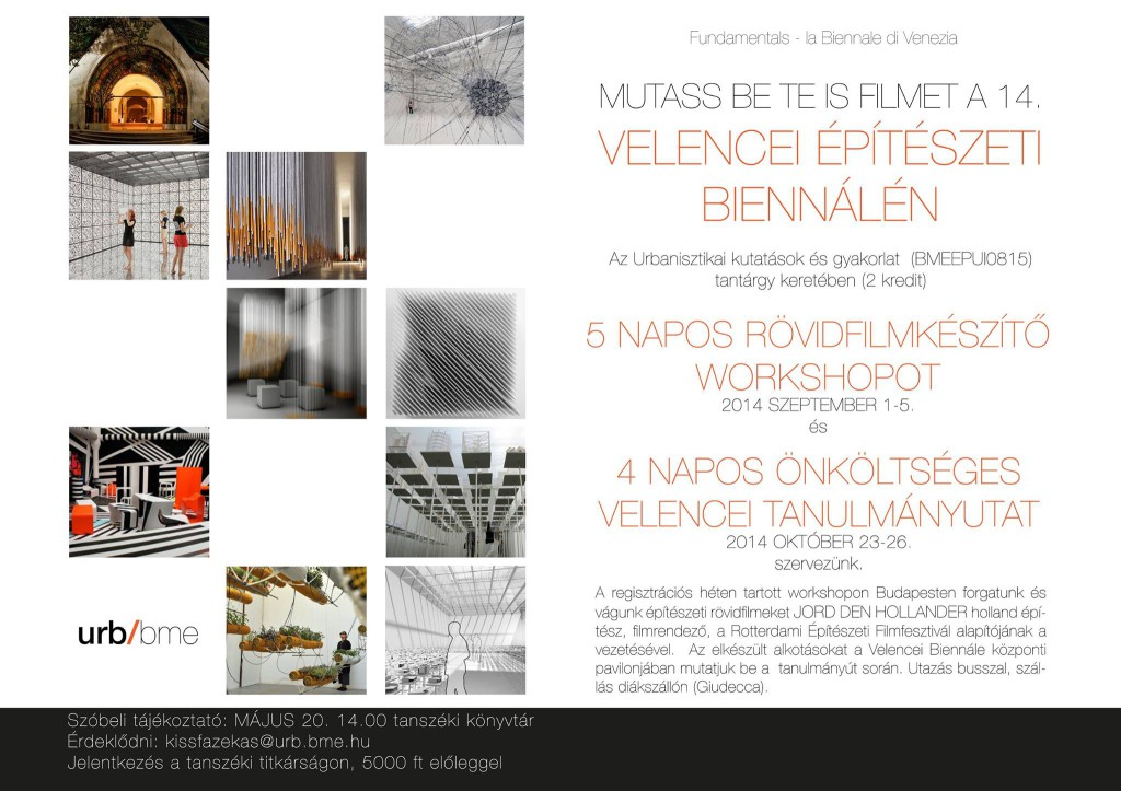 Velence workshop