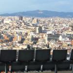 Bozi Anita: Moziünep, Barcelona [Város képe felülről]
