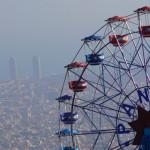 Eke Tamás: Óriások játszótere, Barcelona [Város képe felülről]