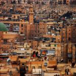 Hajdu Gáspár: Adásszünet, Aleppo (Szíria) [Város metszete]