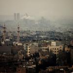 Hajdu Gáspár: Párhuzam, Aleppo [Város képe felülről]