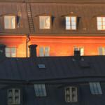 Funk Bogdán: Fent, Stockholm [Város képe felülről]