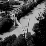 Riesz Abigél: Kígyó, Innsbruck [Város képe felülről]